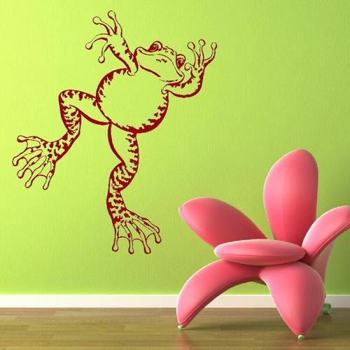 Frog Animal Vinyl Sticker Wall Stickers Frog Wall Decals Wall Art Murals Uk Ne7 Sticker Wall Art Frog Wall Decals Decal Wall Art