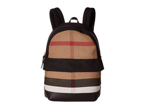 00de07f5b6 Burberry Kids Tiller Check Backpack Zappos Couture