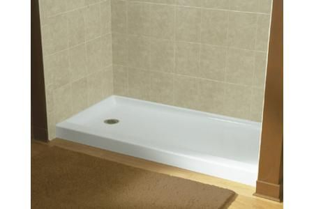 Model Of Sterling 0 Ensemble Shower Receptor ly Left Hand Drain 60 x 30 White Awesome - Model Of bathroom shower base Luxury
