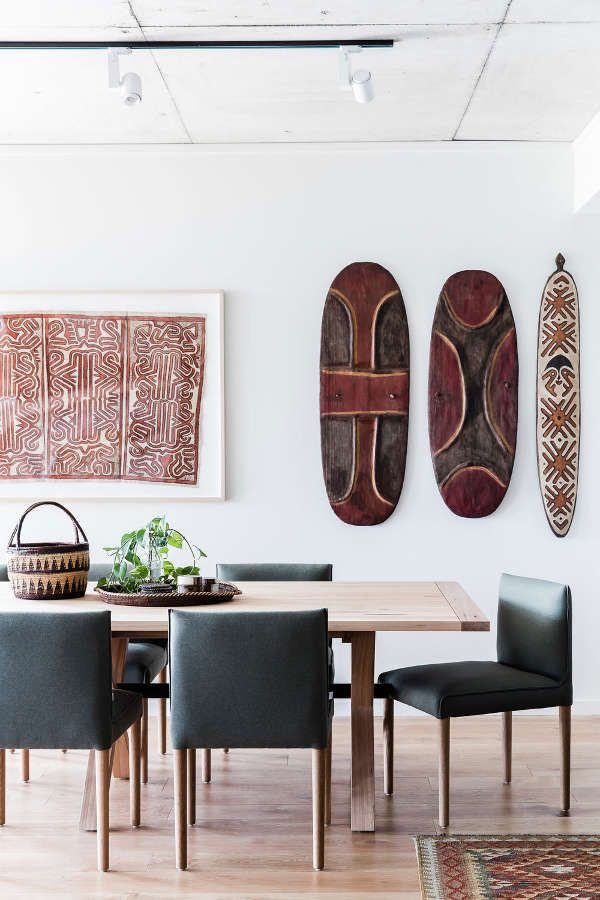 Aboriginal Art A Brisbane Apartment By Louise Walsh Desire To