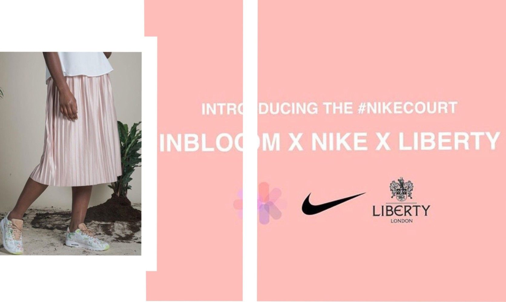 Curve fashion model Neela, stars in the latest Nike x Liberty collaboration  campaign; see