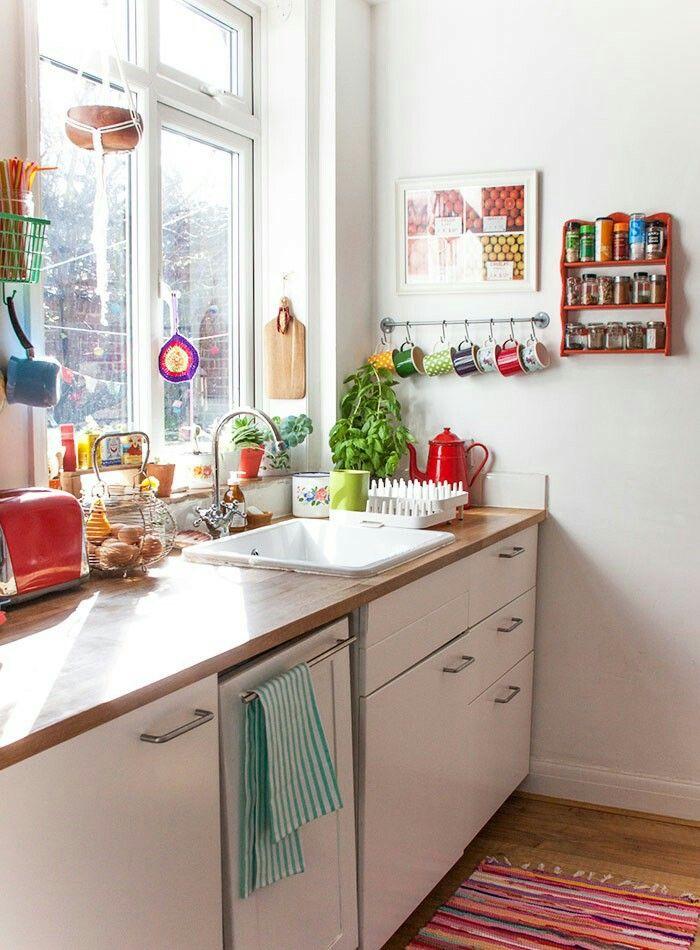 Pin by Laura Bazzell on Kitchen  Bath Pinterest Granny chic - küche ohne oberschränke