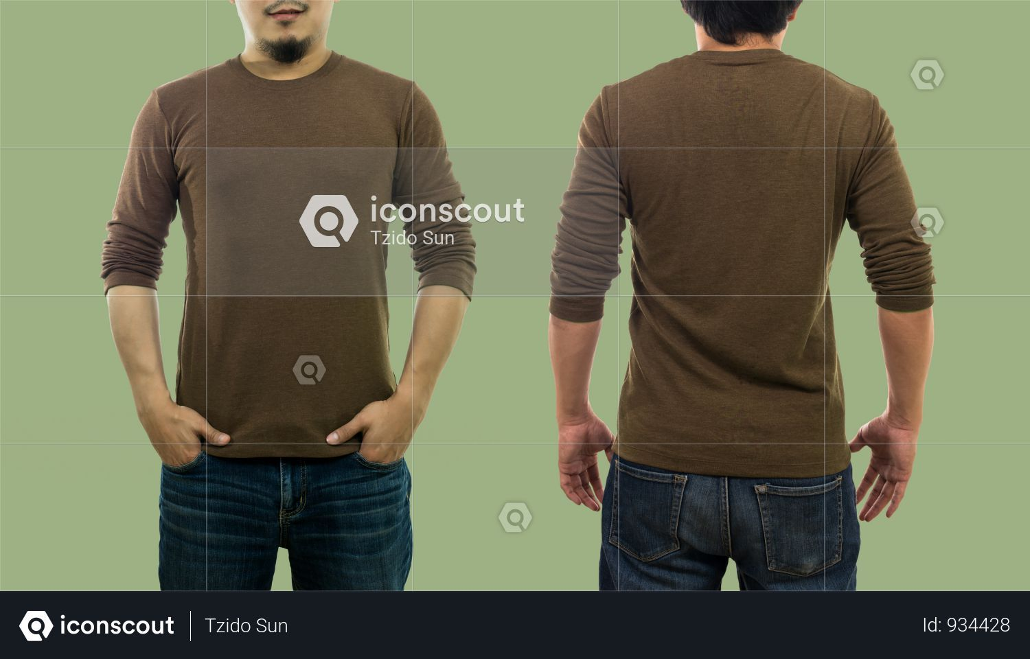 Download T Shirt Mockup With Front And Back Side View Photo Shirt Mockup Tshirt Mockup Shirts