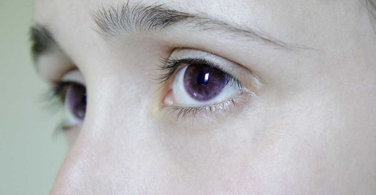 A Collection Of People With Purple Eyes And What Causes Them