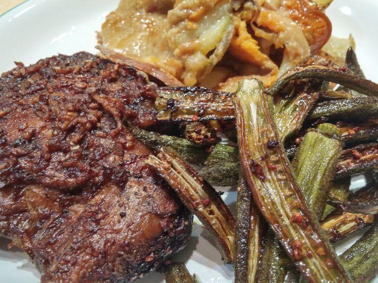 Recipe: Lion's Mane Mushroom Steaks (with Bonus Roasted Okra Recipe) — Steemit