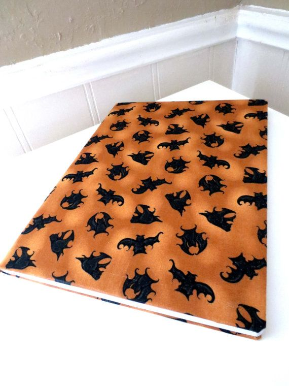 Halloween Bat notebook journal. by PeacefullyPerfect on Etsy, $16.00