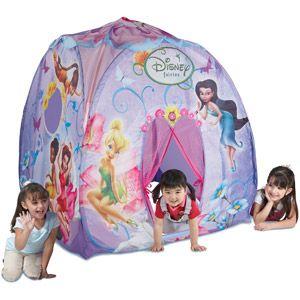 tinkerbell pop up tent