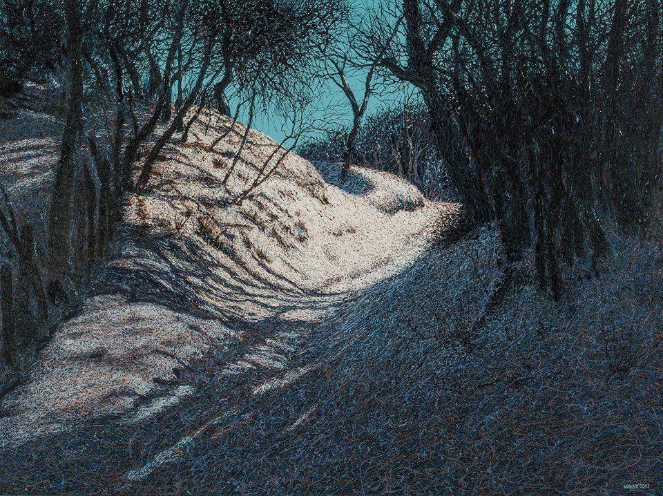 Зимние пейзажи Ивана Марчука.