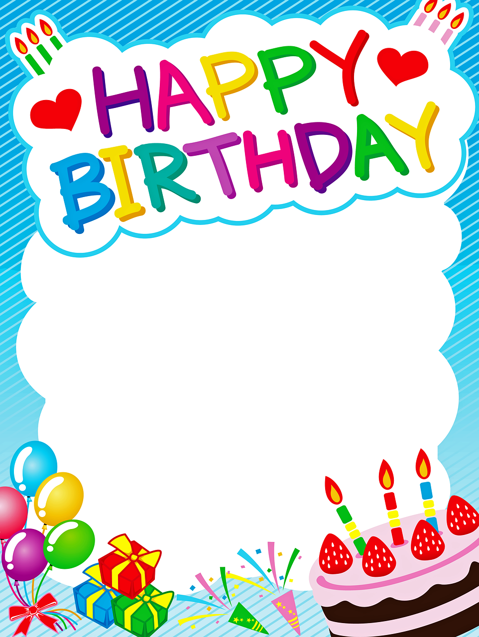 Free Image On Pixabay Birthday Background Happy Birthday Happy Birthday Posters Happy Birthday Frame Happy Birthday Greetings Friends