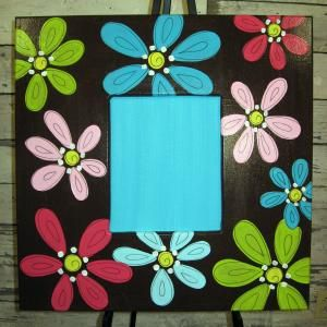 Frames Painted Picture Frames Crafts With Pictures Painting