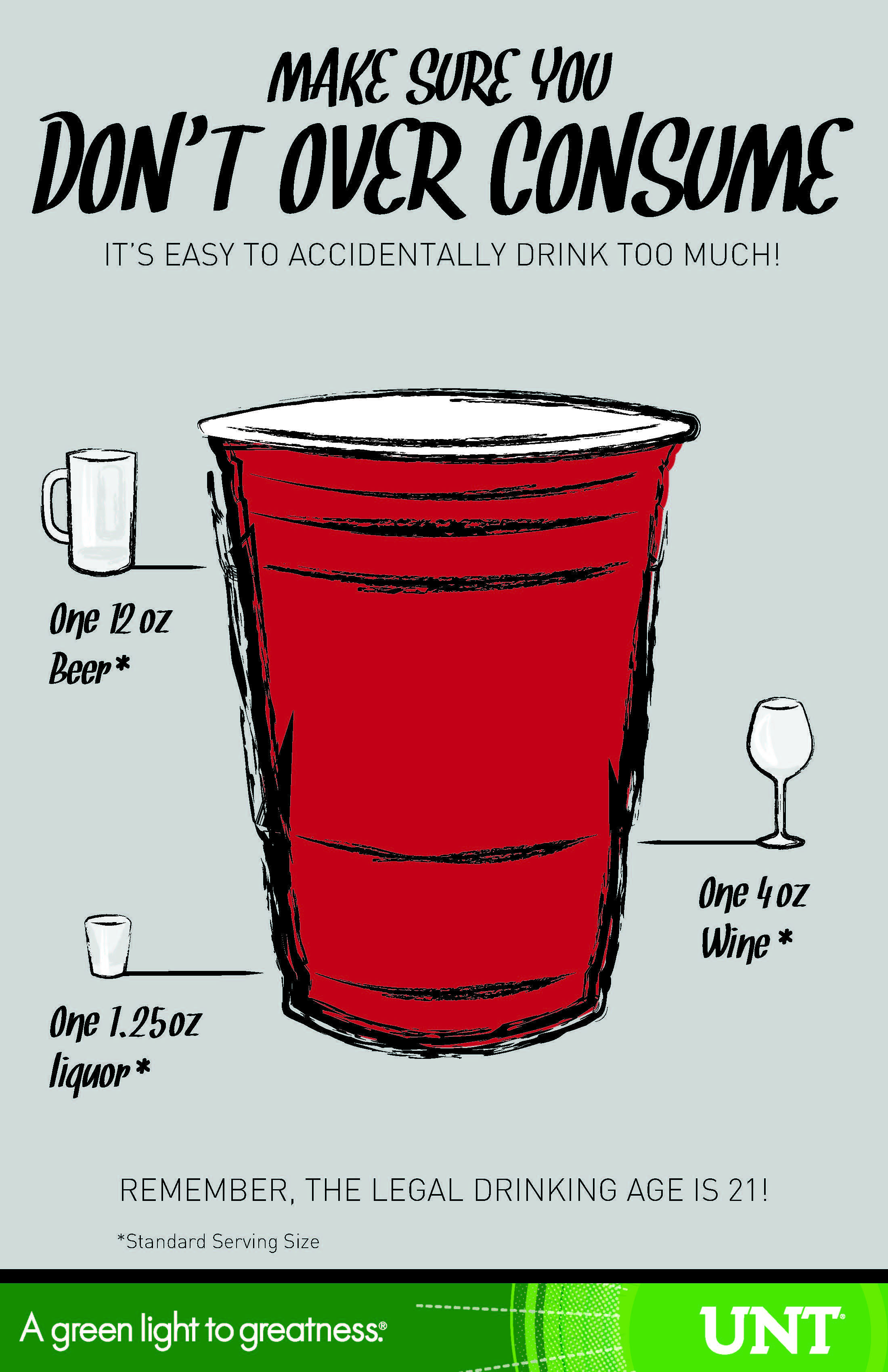 awareness poster legal drinking age
