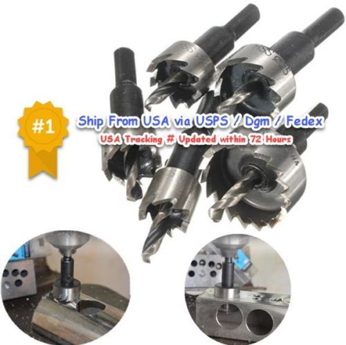 Hole Saw Drill 16 30mm Cutter Hss 5pcs Bit Set Metal Steel Stainless Sheet With Images Wrench Set Reamers Hole Saw