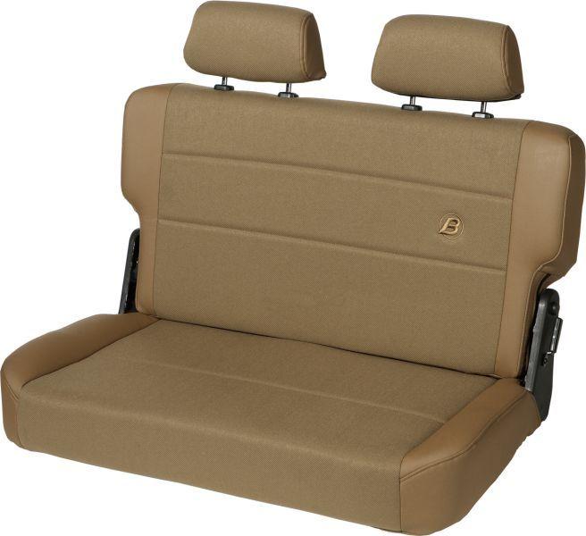 Bestop Trailmax Ii Fold Tumble Rear Bench Seat In Fabric For 55