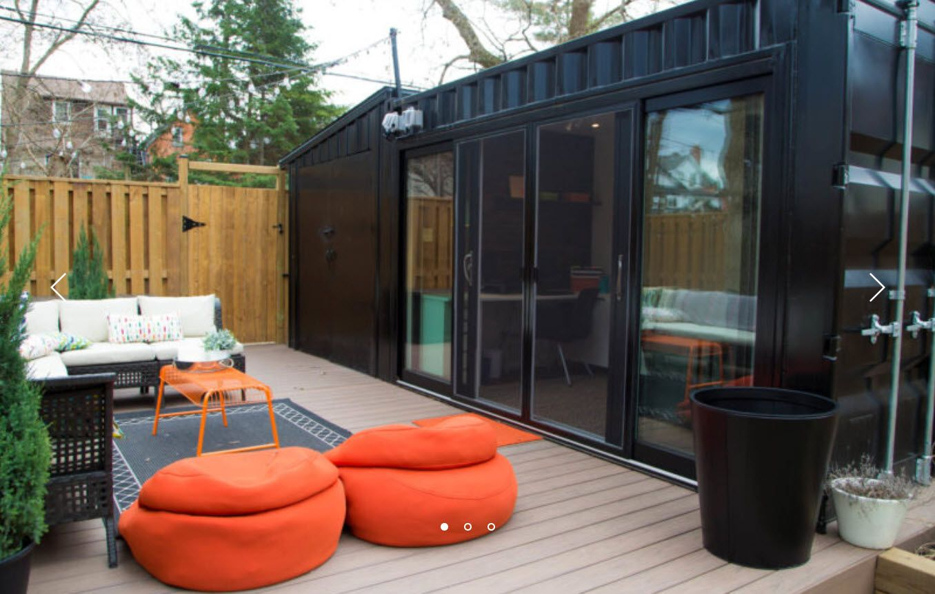 2017 Giant Shipping Container Hgtv Backyard Build Iso Container