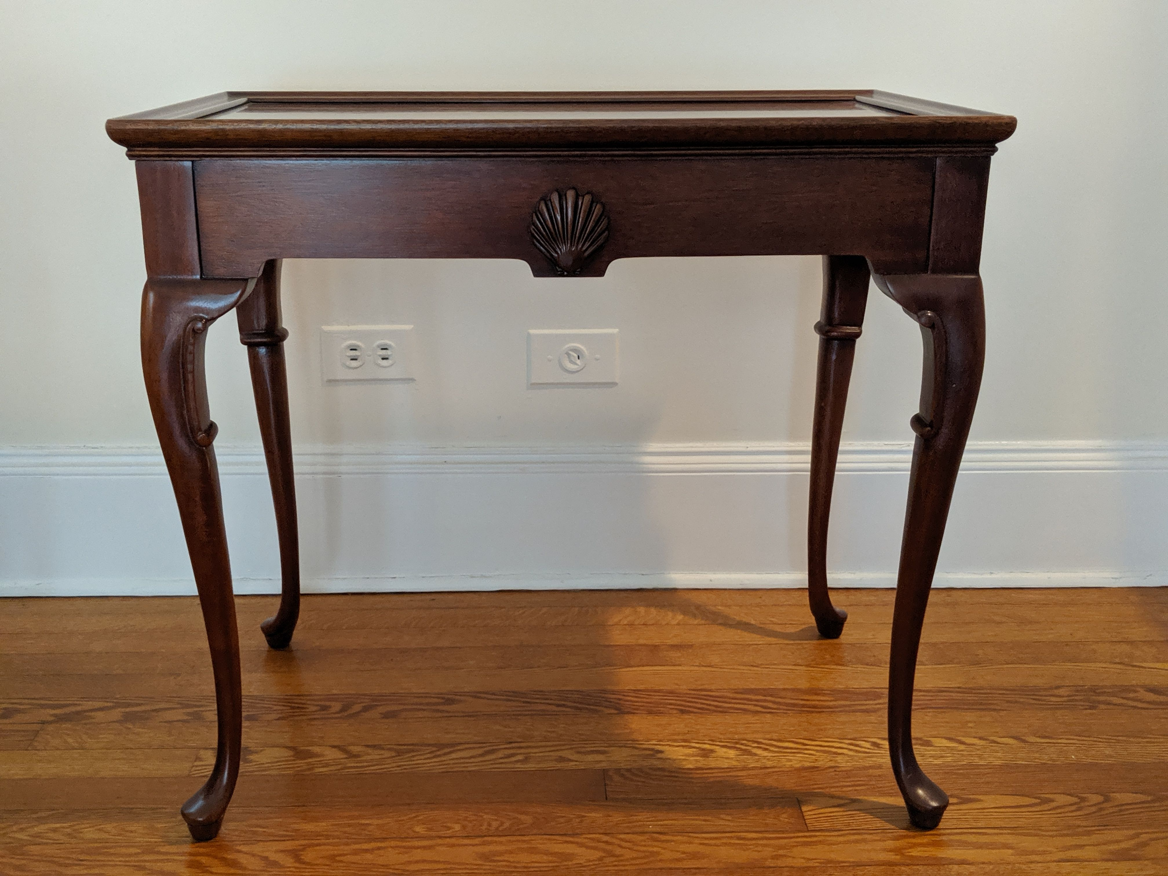 Vintage Accent Tea table by Hickory Chair Company