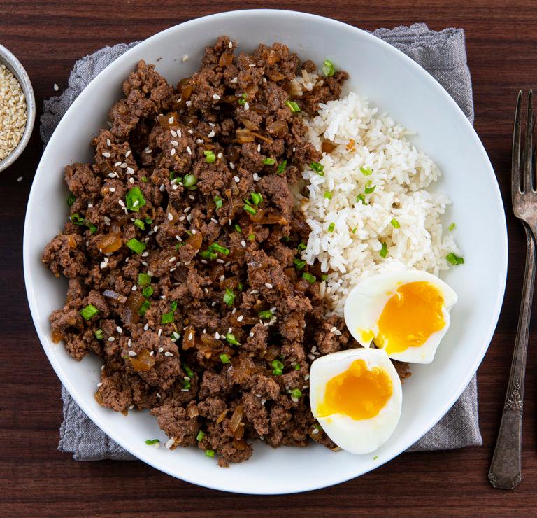 Easy Ground Beef Bulgogi | Recipe in 2020 | Bulgogi beef ...