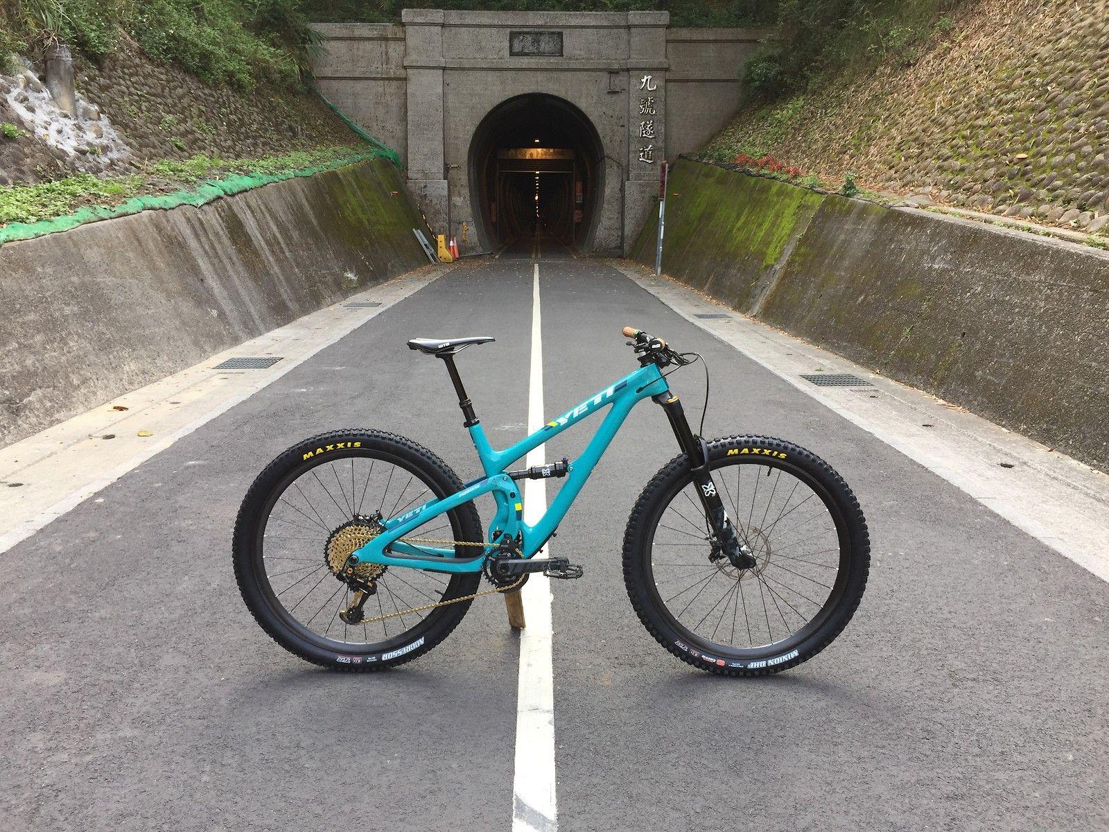 2018 YETI SB5 5 Turq - XX1 Eagle - titic999's Bike Check - Vital MTB