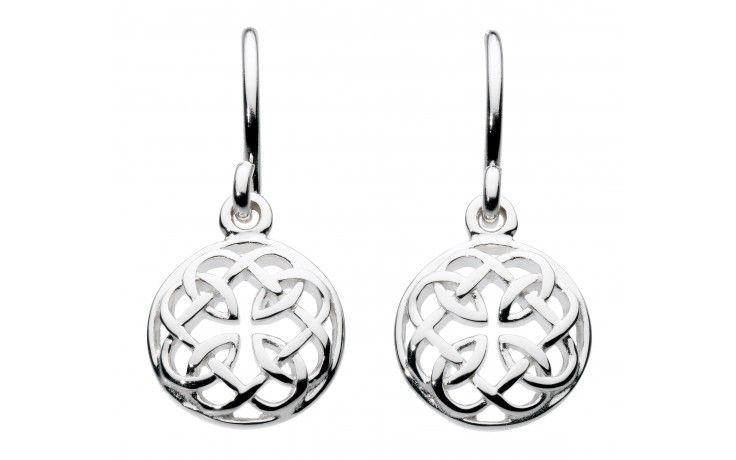 Heritage Sterling Silver Celtic Teardrop Drop Earrings RrwrGUn1