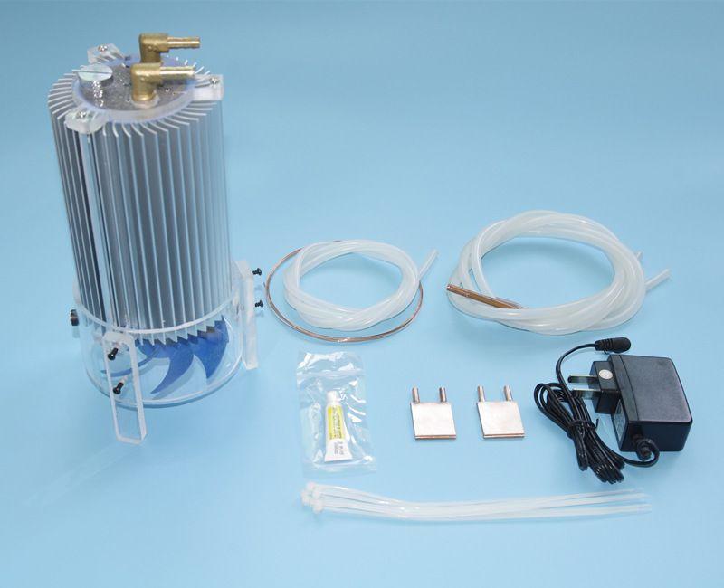 Diy laptop cpu water liquid cooling cooler radiator kit