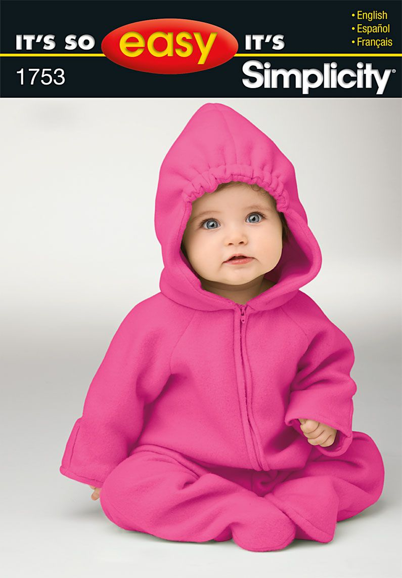 baby patterns simplicity its so easy babies costume pattern - Baby Halloween Costume Patterns