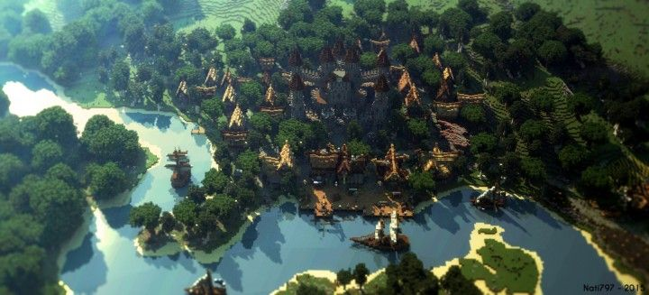 World Of Keralis   Survival Server Map Minecraft Project