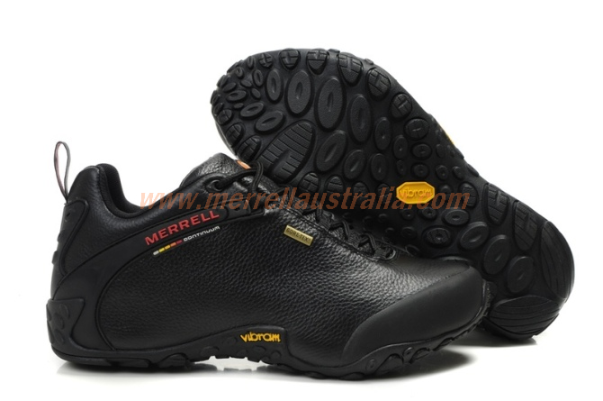 bbcef559d2 GH659BU Merrell Mens Chameleon II Storm Gore-Tex XCR Leather All Black