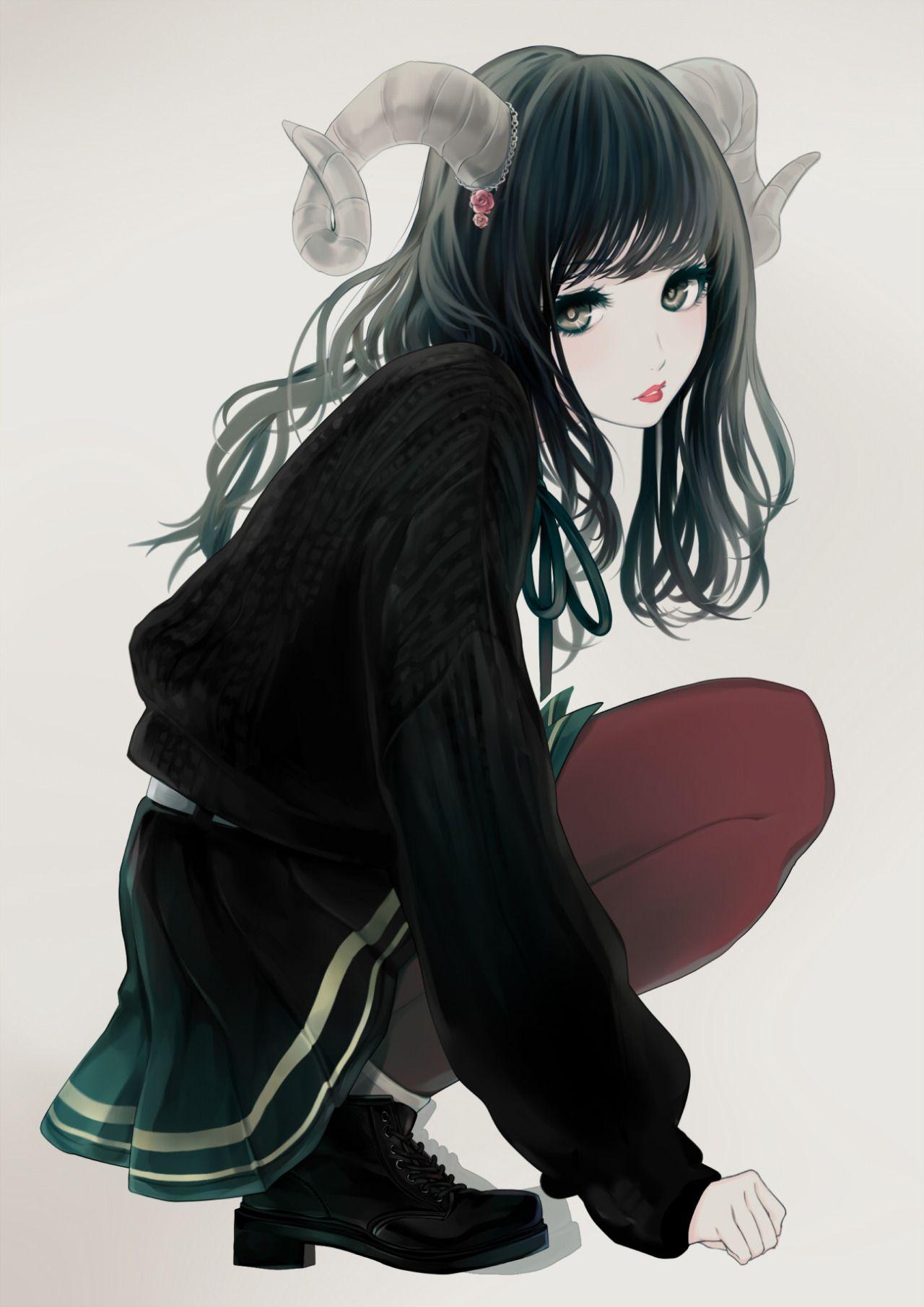 Anime girl tumblr
