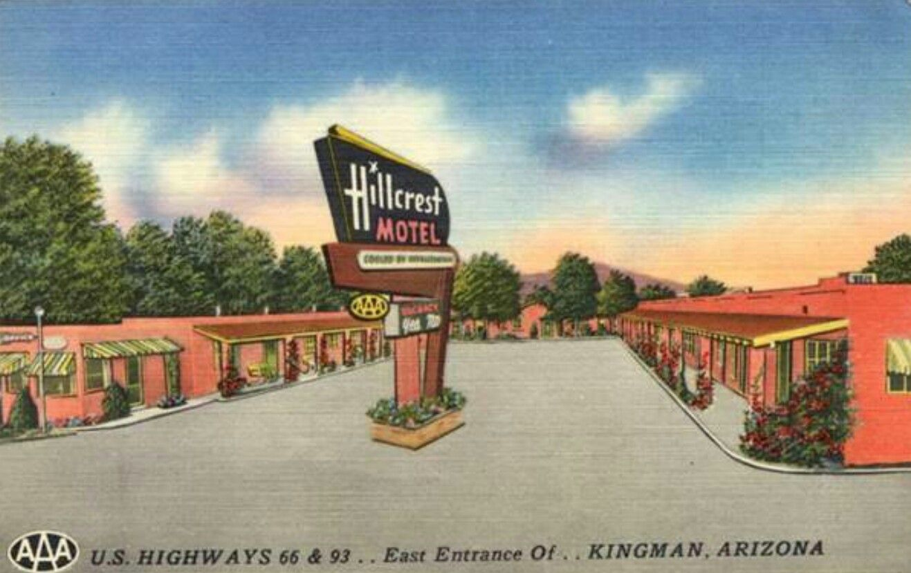 Pin on Art Deco Motels, Bungalows, Motor Courts & Tourist