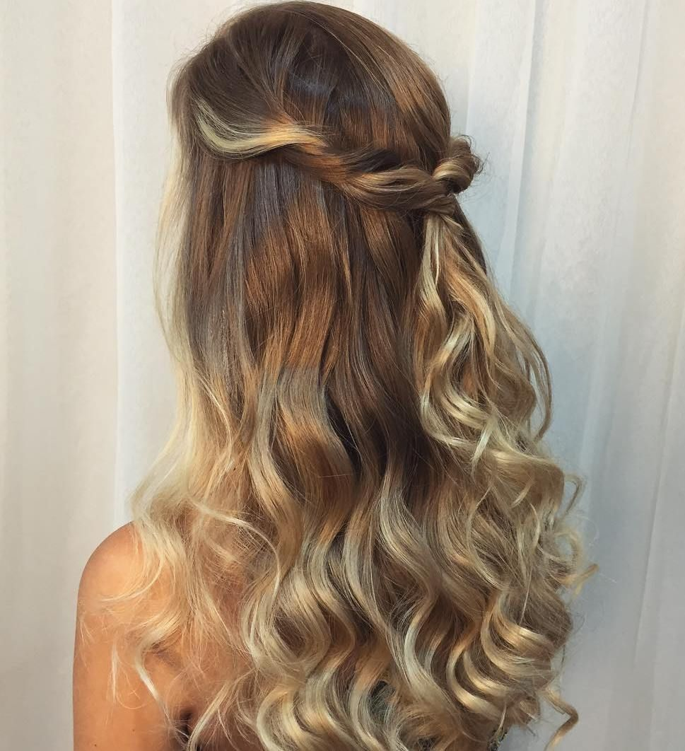 50 Half Updos For Your Perfect Everyday And Party Looks Long
