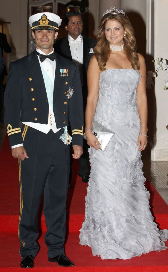 Prince Carl Philip and Princess Madeleine of Sweden