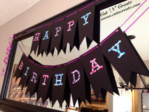 Monster High Birthday Banner, Monster High, Monster High Decorations
