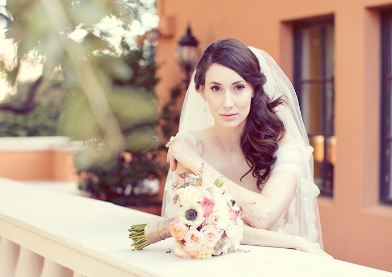 Side Swept Wedding Hairstyles With Veil Wedding Galery