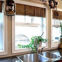 I'm one that prefers untraditional window treatments, hence, the coffe… :: Hometalk