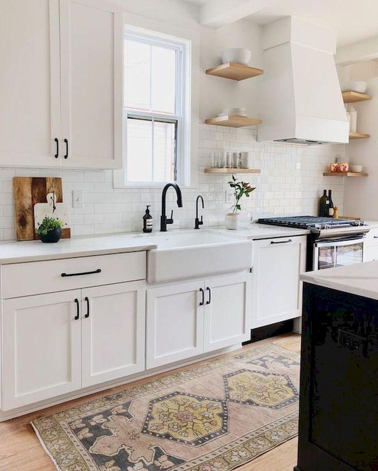 Photo of 50 bellissimi lavelli da cucina in stile rustico idee di design e arredamento – #backsplash #Beauti …