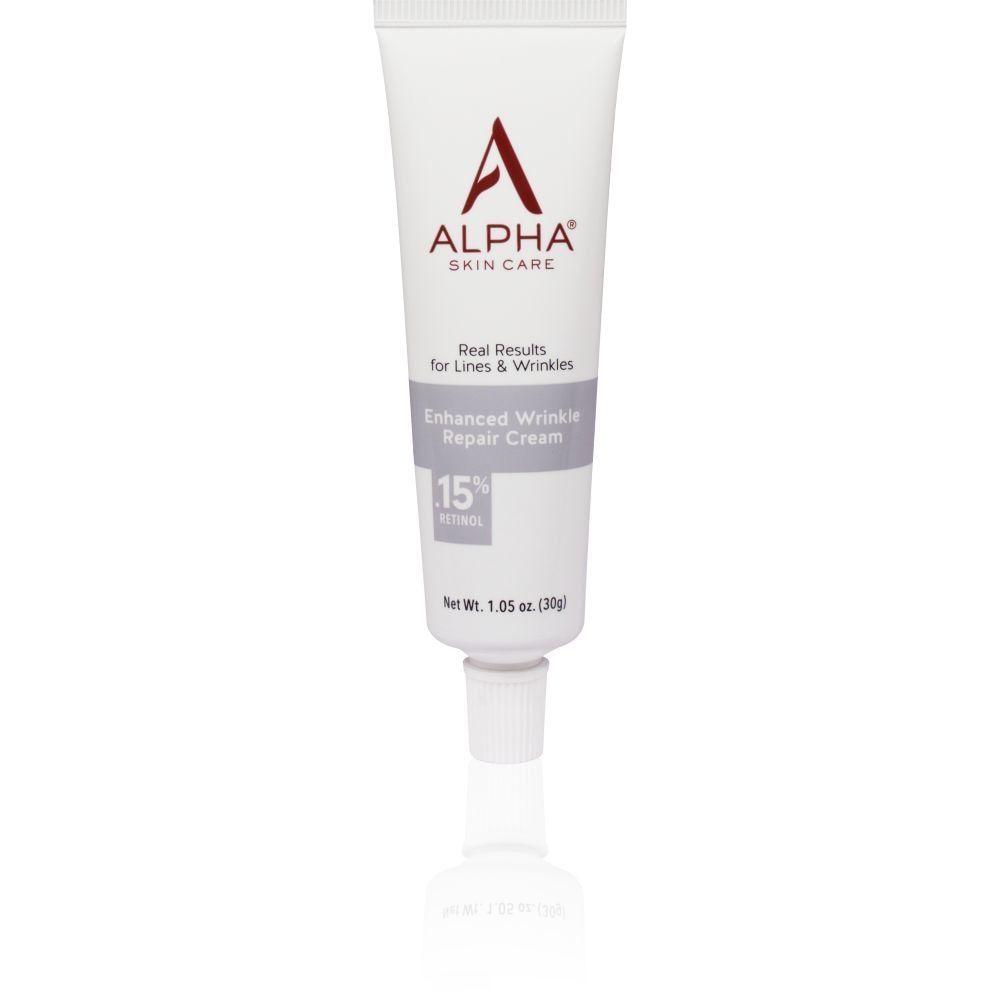 Alpha Skin Care Enhanced Wrinkle Repair Cream With 15 Retinol Wrinkle Repair Repair Cream Retinol