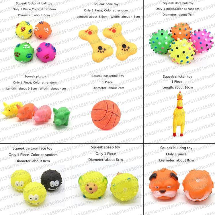 Rubber Squeak Toy For Dog Screaming Chicken Chew Bone Slipper