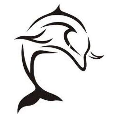 Tatuaggio Delfino Tuffo Tatuami Cosi Golfinhos Cavalo Desenho