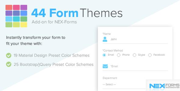 Form Themes for NEX-Forms | Best Premium WordPress Plugins - 2019