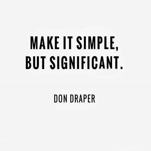 244979 Keep It Simple Quotejpg 512512 Minimalist Pinterest