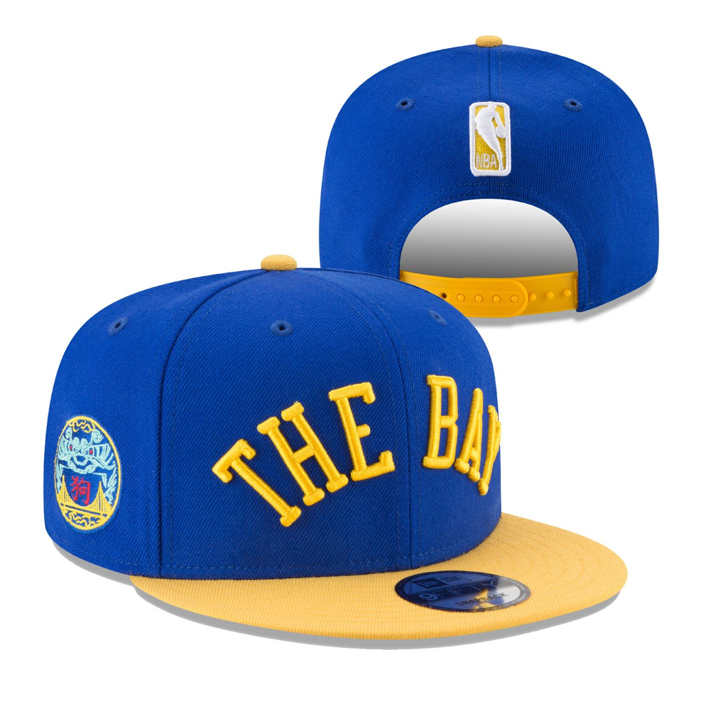 b8ae685e5 Golden State Warriors New Era Back To Back NBA Champions 9FIFTY ...