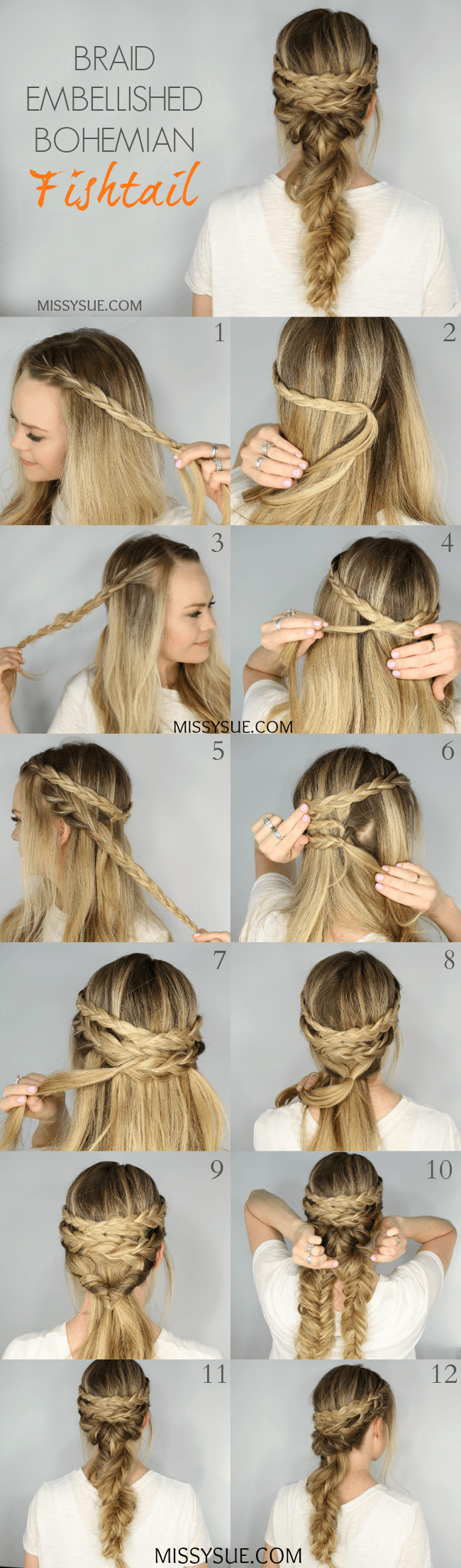 How to do the twisted fishtail the trendiest hairstyle of the
