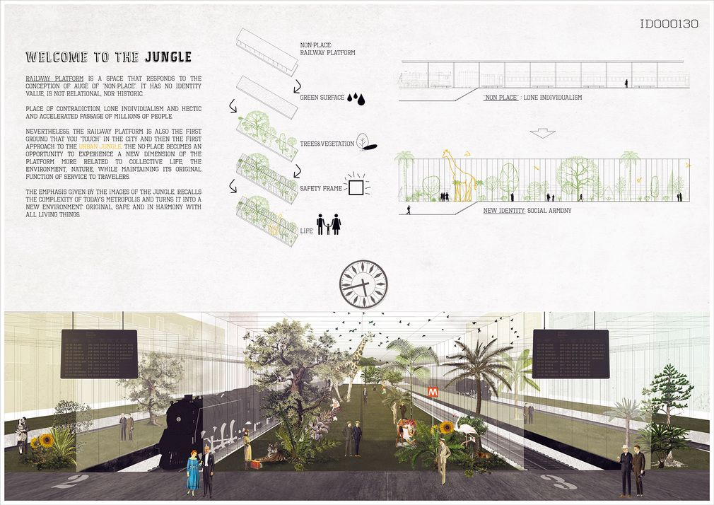 24h Competition 8th Edition Winners Rethink The Metropolitan Non Place