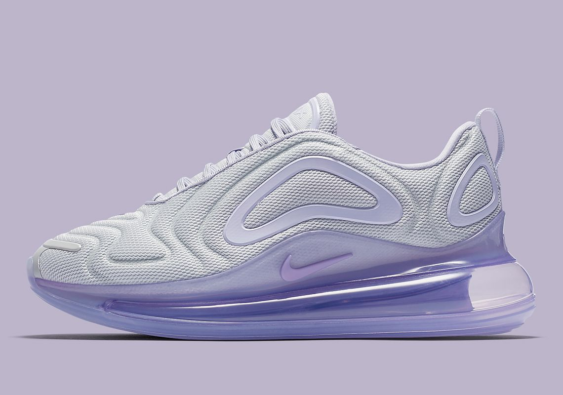 Nike Pairs Pure Platinum With Oxygen Purple On The Air Max