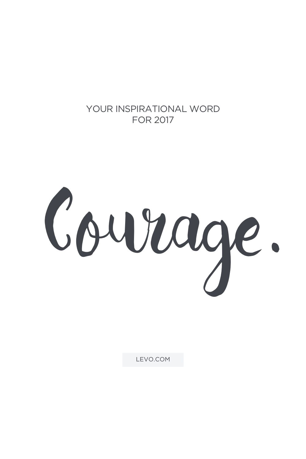 What Will Be Your Inspirational Word For 2017? personal