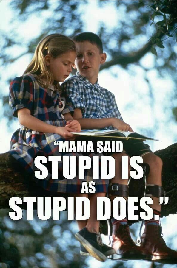 Mama Said Stupid Is As Stupid Does Forrest Gump Pinterest Forrest Gump Quotes Forrest Gump Favorite Movie Quotes