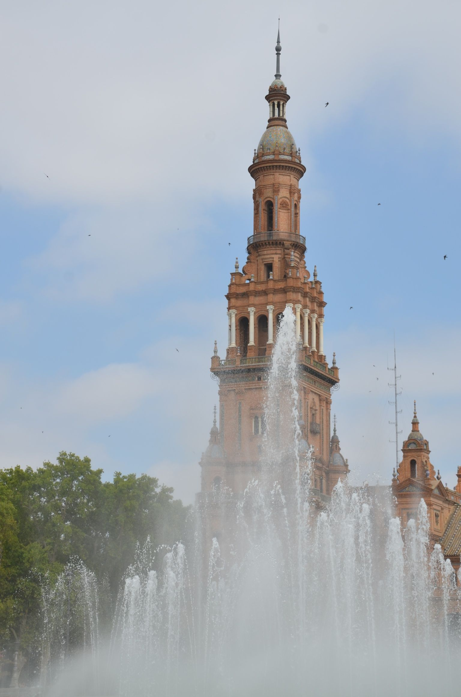 Séville : Jeux d'eau