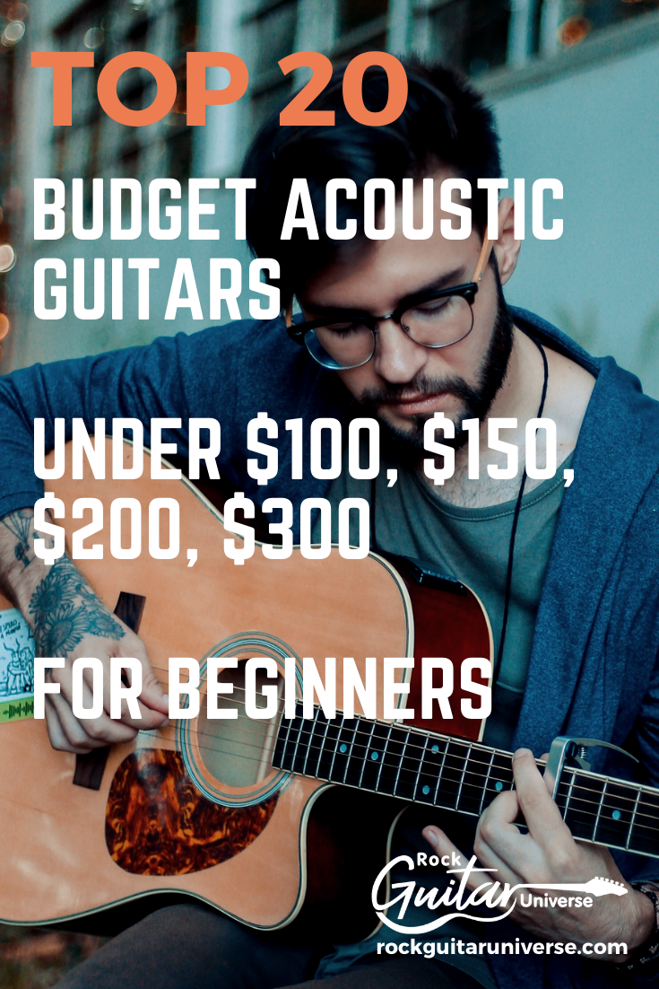 Top 20 Budget Acoustic Guitars Under 100 150 200 300 For Beginners Acoustic Guitar Guitar Acoustic