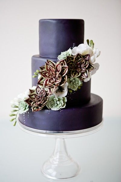 Gumpaste Succulent Tutorial - Cake Decorating