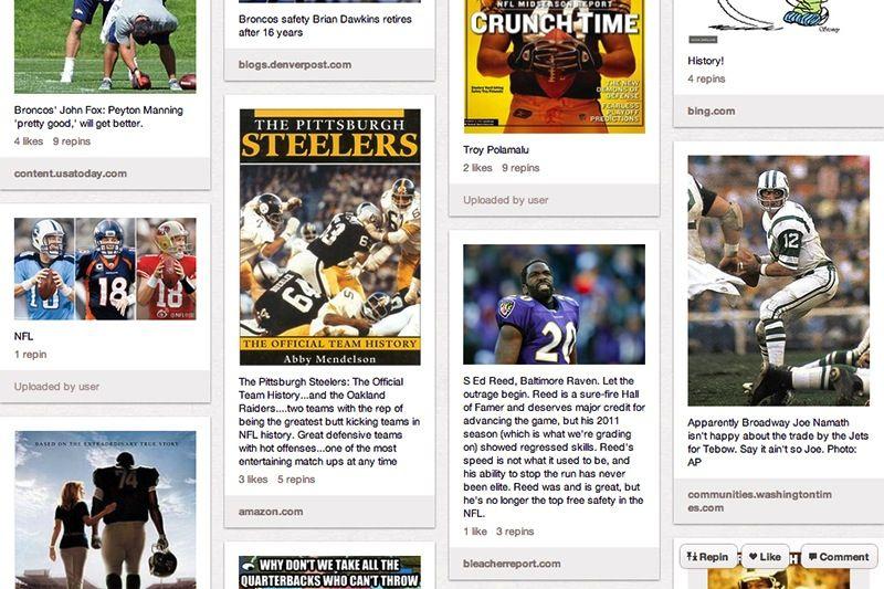 NFL Kickoff, via the Official Pinterest Blog