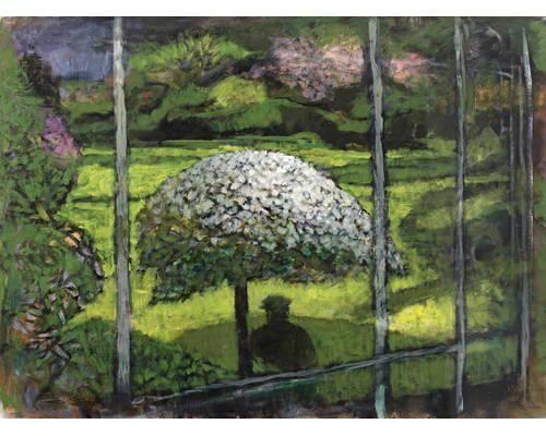 """""""The Artist in his Garden"""" by John Elwyn"""